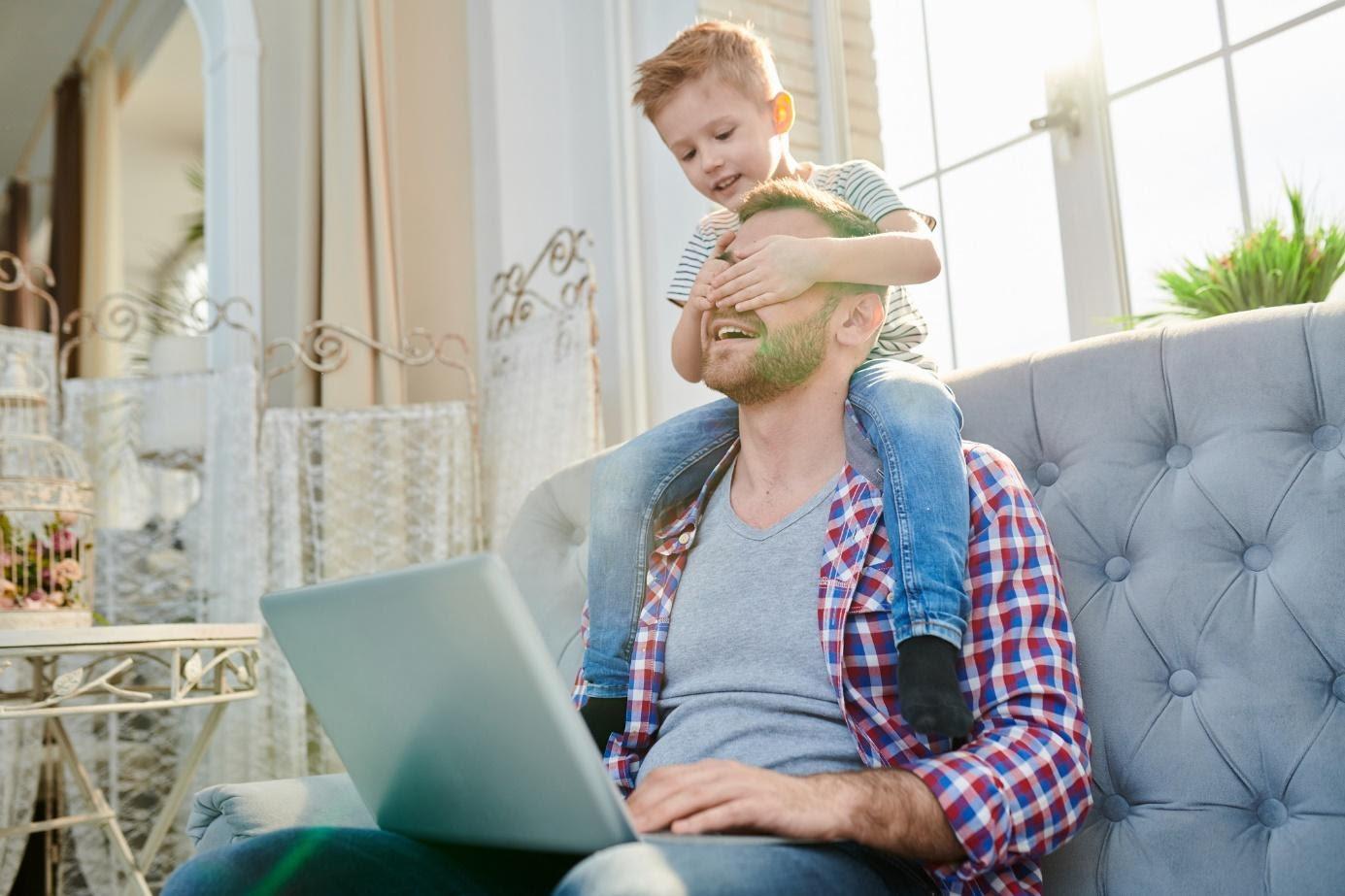 gezond thuiswerken met kinderen